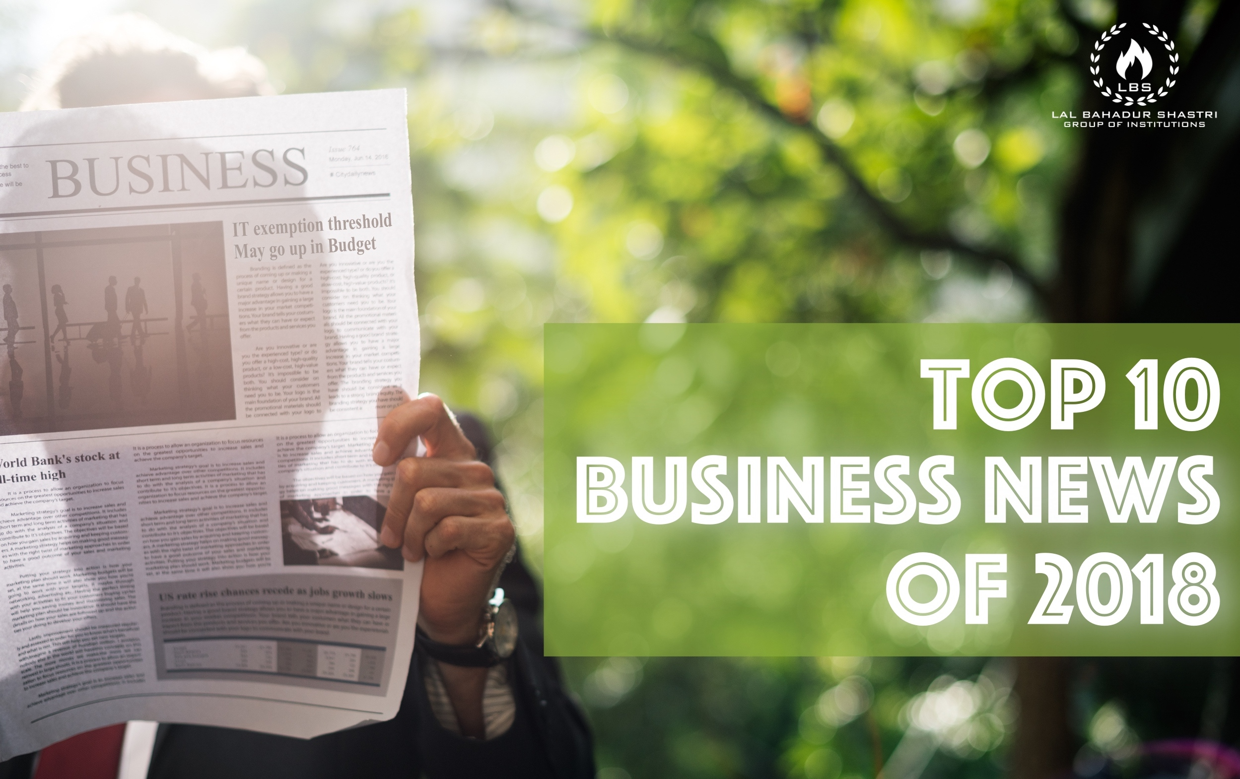 Top 10 Business News
